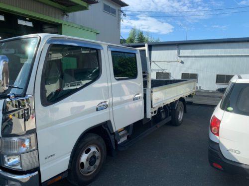 トラック改造 ビフォー